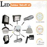 Jogos de retrofit claros listados do diodo emissor de luz 150W do UL Shoebox de Dlc