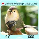 装飾のイギリスの鳥のRobinの樹脂の鳥の置物