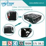 48V 100ah 태양 저장 시스템을%s 재충전용 LiFePO4 건전지 팩
