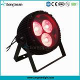 Lautes Summen LED NENNWERT Lampe der Leistungs-3*60W RGBW für Stadium