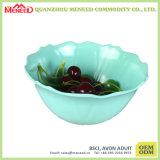 Шар плодоовощ меламина сплошного цвета зеленого цвета пользы Homeware ежедневный