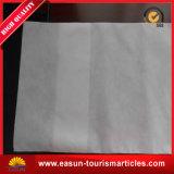 Cubierta blanca disponible de la almohadilla, funda de almohada para la línea aérea