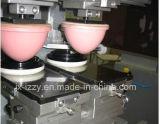 Machine d'impression manuelle de garniture de 6 couleurs pour la bouteille en plastique de cuvette