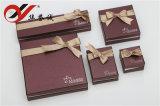 Bowknot-Schmucksache-Papierverpackenkästen für Schmucksache-Speicher