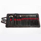 Spazzola cosmetica di saggezza 22PCS con la cassa nera dell'unità di elaborazione