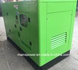 do gerador Diesel principal de Yuchai da potência de 100kVA 80kw tipo Soundproof da cabine