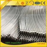 Kundenspezifische Aluminium CNC-maschinell bearbeitenaluminium-verbiegende Profile