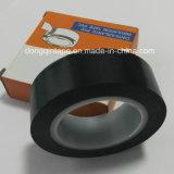 Nastro elettrico nero dell'isolamento del PVC con la memoria interna di plastica (0.15mm*19mm*10m)