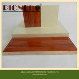 Intérieur E0 Glue 18mm Melamine Commercial Plywood