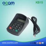 Mini tastiera meccanica programmabile di posizione del USB Kb15 per il sistema della Banca