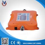 Aumentador de presión celular portable de la señal del G/M WCDMA 900/2100MHz