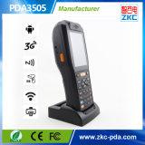 Barcode 스캐너와 인쇄 기계 (PDA3505)를 가진 접촉 스크린 소형 3G RFID PDA