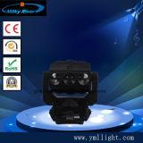 La phase Lumière nouveau fantôme 9pcs 12W RGBW 4en1 LED Quad de faisceau de balayeuse Déplacement de l'effet de la tête de l'éclairage