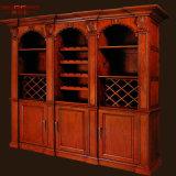 Шкаф шкафа мебели вина виллы роскошный Mahogany (GSP19-009)
