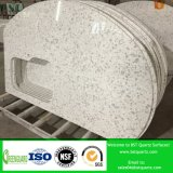 Prefabricated 단단한 지상 석영 Worktop