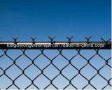 Barriera di sicurezza rivestita del raggruppamento d'acciaio del vinile nero