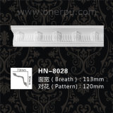 Coins décoratifs Hn-8028 de moulages de corniche d'unité centrale