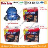 China Fabricante de baixo preço de venda por grosso das fraldas para bebé descartáveis