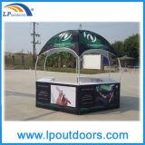 Dia 3mの広告の使用された印刷六角形展覧会のドームのテント