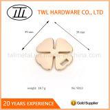 Tenditore accessorio della chiusura lampo del hardware in lega di zinco del metallo per la decorazione