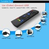 2016 mouse senza fili mini di vendita caldo della mosca dell'aria della tastiera Mx3 per il LG TV astuta