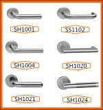 Poignée de finition Ss SS304 Matériau Acier inoxydable interne / externe porte