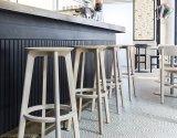 현대 단단한 재 목제 하이바 의자