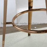 Ново! ! ! Стул нержавеющей стали высокого стула табуреток штанги с кожей PU