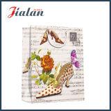 Réutiliser le sac de papier bon marché estampé de logo d'OEM de promotion pour la boutique