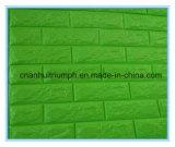 Papel de parede 3D removível e removível de espuma auto-adesiva para sala de estar infantil