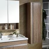 47 Zoll-hölzerne festes Holz-Eitelkeit mit Spiegel-Schrank und Seiten-Schrank