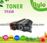 Comercio al por mayor para Brother TN-450 de tóner negro de alto rendimiento con el embalaje minorista