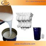 Fabrication de moules en caoutchouc au silicone pour la corniche au plâtre (RTV2028)