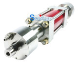 교류 표준 Waterjet 절단기를 위한 Waterjet 강화 펌프 60k 짧은 구획 고전적인 성과