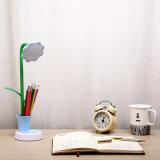 Sunflower lámpara de mesa LED para portaplumas y luz de lectura