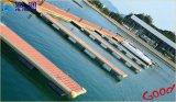 Fabriqué en usine directement en alliage d'aluminium Frame Floating Pontoon