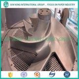 Rotor del triturador para reducir a pulpa de papel