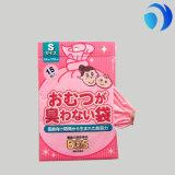 Sacchetto di plastica del pannolino del pannolino del bambino di Fragranced del profumo della polvere di bambino
