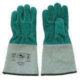 Ab класс Cowhide Split Защитный кожаный чехол для сварки и перчатки