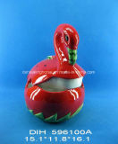 Vaso di ceramica dipinto a mano del dolce della tartaruga