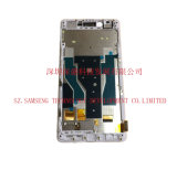 Conjunto de vidro do digitador da tela de toque do indicador do LCD para Oppo R7