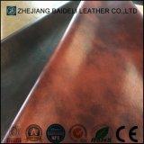 Microfibra Faux Leather para estofamento de móveis e decoração macia para casa