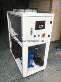 Tipo a prueba de explosiones unidad refrescada aire del refrigerador de agua de 23kw usada en Egipto para industria alimentaria