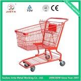 セリウムの公認の金属のスーパーマーケットの買物車(JT-E01)