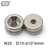 Permanenter starker Neodym-Magnet mit ausgezeichneter Qualität
