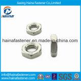 DIN439 la tête Hex de l'acier inoxydable 304 amincissent la noix