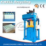 Ropa usada/prensa hidráulica de la compresa de la materia textil/máquina de embalaje/empaquetadora vertical