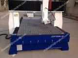 A máquina de trituração do CNC de 4 linhas centrais para o fechamento de porta fura a perfuração