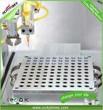 Ocitytimes máquina de enchimento e tampando do F2 para o petróleo de Cbd/petróleo de cânhamo/petróleo de Thc/petróleo do CO2 o cartucho