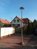 Integreerde de Kleurrijke Verlichting van het UFO het ZonneLicht van de Tuin